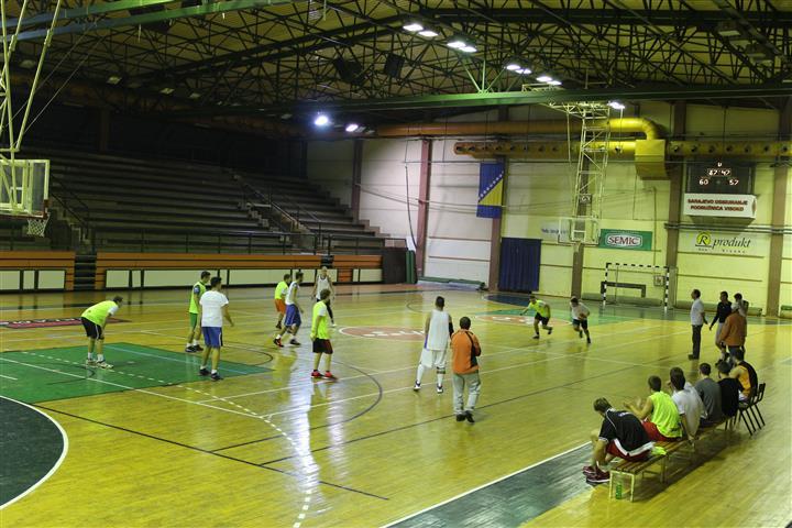 """Pripremna utakmica KK """"Visoko"""" - KK """"Mladost"""" Ilijaš"""
